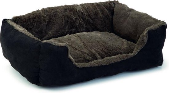 Beeztees Baboo - Kattenmand - Taupe/Zwart - 48 x 37 x 18 cm