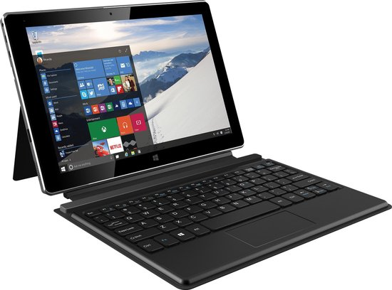 Archos Laptop / tablet 2-in-1 - Intel Atom Quad-Core - 32GB SSD - 10.1 inch HD - HDMI - USB 3.0 - Windows 10