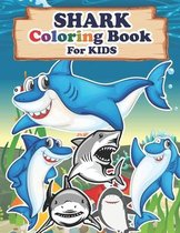 SHARK Coloring Book For Kids
