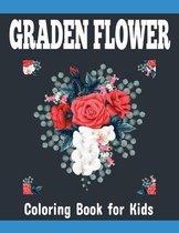 Graden Flower Coloring Book for Kids