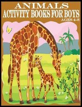 Animals Activity Books For Boys