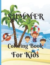 Summer Coloring Book for Kids