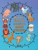 Mon 1er livre de coloriage enfant ANIMAUX