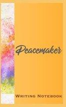 Peacemaker Writing Notebook