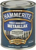 Hammerite Metaallak Structuur - Geborsteld Metaal - 750 ml