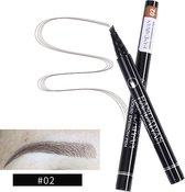 Microblading Joya Beauty Eyebrow Tattoo Pen | Waterproof Tattoo Wenkbrauw Pen |Kleur 2: Licht Bruin