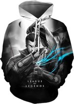League of Legends Hoodie - Yasuo - Maat M