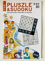 Pluszle & Sudoku 2 tot 6 sterren, puzzelboek editie 1