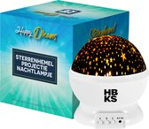 HBKS Happy Dreams Sterrenprojector - Wit