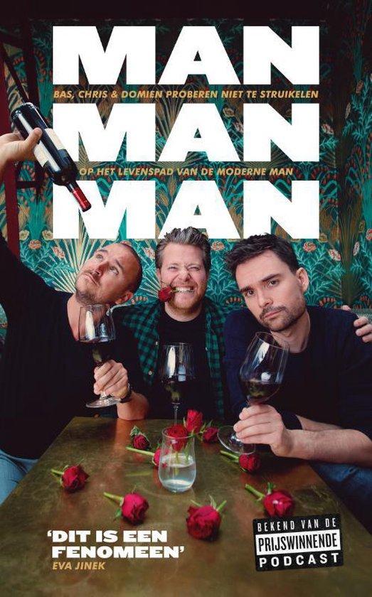 Boek cover Man man man, het boek van Domien Verschuuren (Paperback)