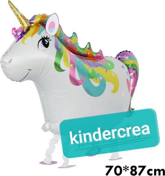 wandelende ballon Airwalker Unicorn
