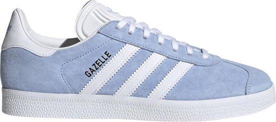 adidas Gazelle Dames Sneakers - Glow Blue/Ftwr White/Gold Met. - Maat 36.5
