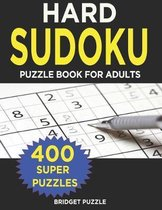 Hard Sudoku Puzzle Book for Adults