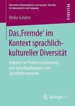 Das 'fremde' Im Kontext Sprachlich-Kultureller Diversitat