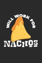 will work for nachos: 6x9 Nachos - dotgrid - dot grid paper - notebook - notes