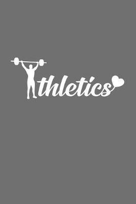 Athletics: 6x9 Athletics - dotgrid - dot grid paper - notebook - notes
