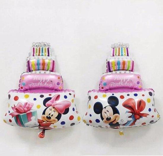 Mickey en Minnie Mouse verjaardag ballon - Mickey - Minnie - Verjaardag ballon - Disney - Birthday ballon - Folieballon