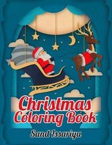 Christmas: Coloring Book with Fun, Easy, and Relaxing Coloring Pages
