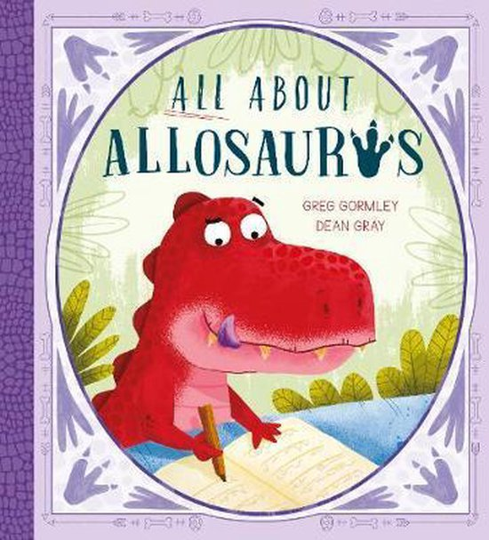 Boek cover All About Allosaurus van Greg Gormley (Paperback)