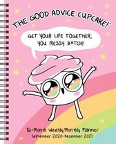 The Good Advice Cupcake 16-Month 2020-2021 Monthly/Weekly Planner Calendar
