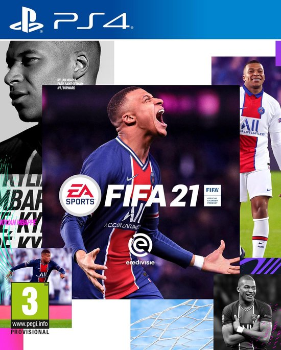 Cover van de game FIFA 21 - PS4