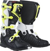 Kenny Crosslaarzen Titanium Black/White/Neon Yellow-44 (EU)