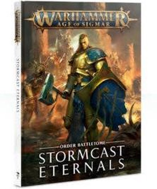 Afbeelding van het spel Battletome: Stormcast Eternals (Hb) Eng