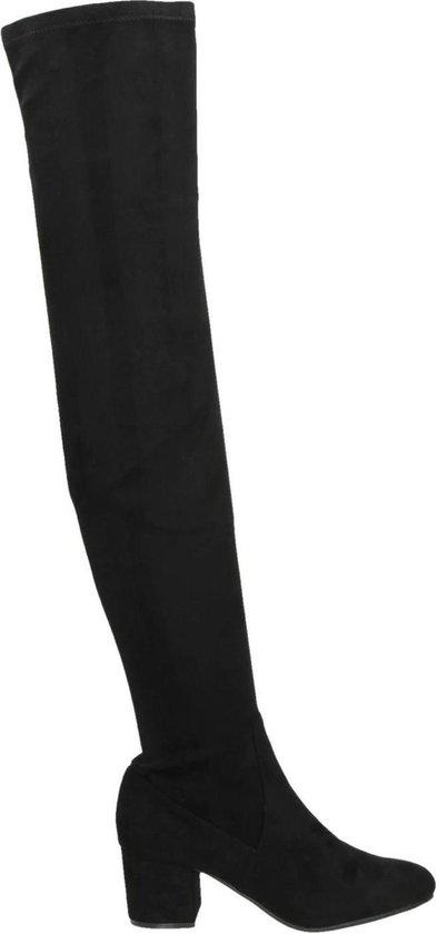 Steve Madden Isaac dames overknee laarzen Zwart Maat 36