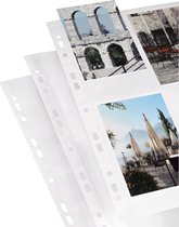 Hama Photo Sleeves For Ring-Binder Albums A4, White, 10 X 15