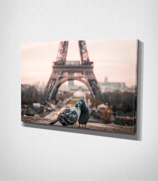 Paris - Eiffel Tower Canvas | 40x60 cm