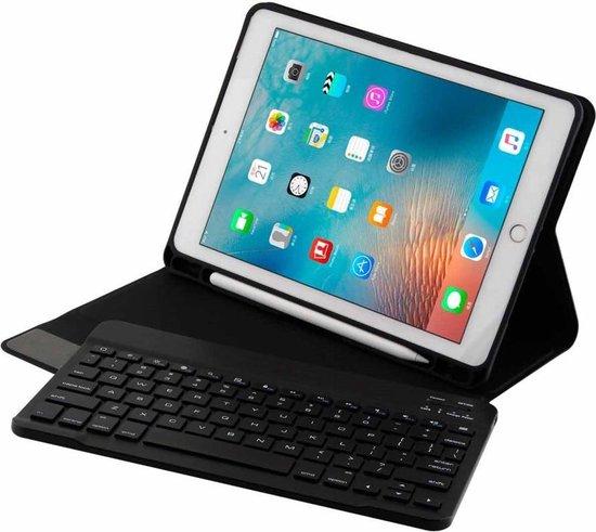 iPad 9.7 (Air Air 2 pro 9.7 iPad 2017 2018) toetsenbord hoes zwart