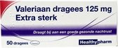 Healthypharm BV Valeriaan X Sterk 125mg - 50 Tabletten - Voedingssupplementen