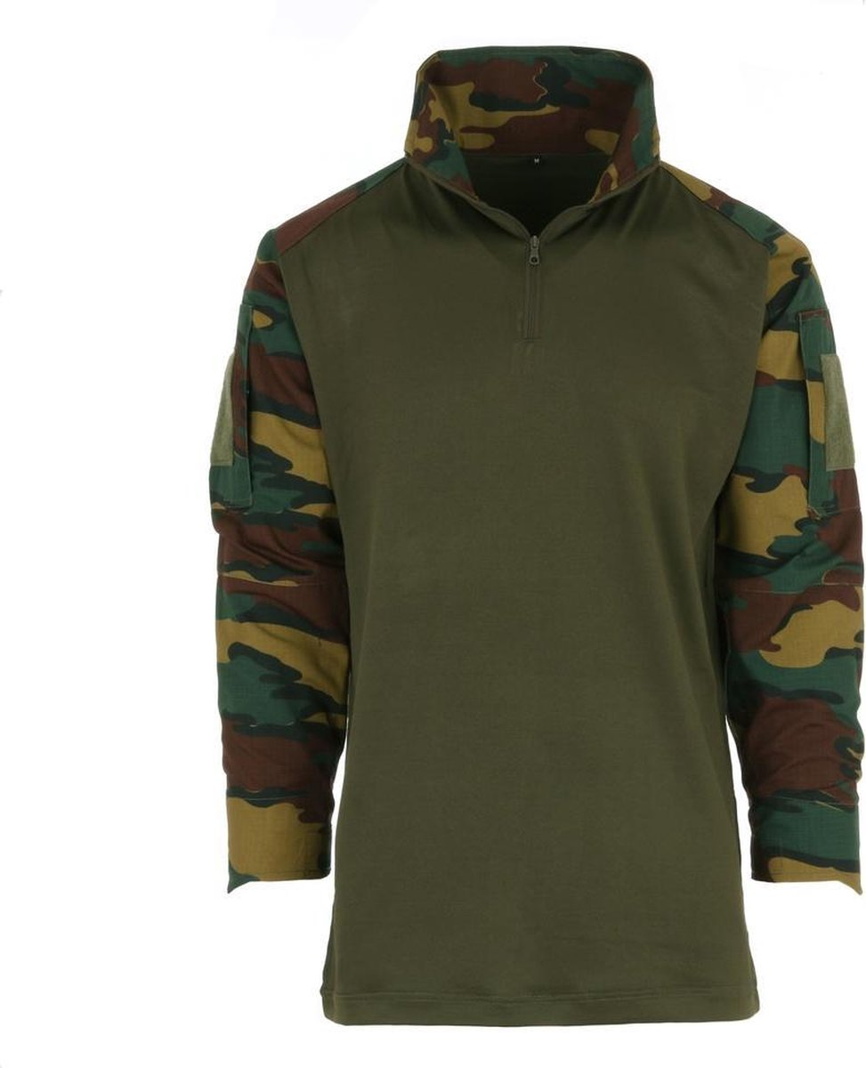 101inc Tactical shirt UBAC Belgische camo