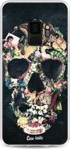 Samsung Galaxy S9 hoesje Vintage Skull Casetastic Smartphone Hoesje softcover case