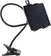 Kikkerland Flexibele Tablethouder - Universeel - Voor Apple en Samsung - Films kijken - Boeken lezen - Tabletaccessoires – 13-20 cm breed
