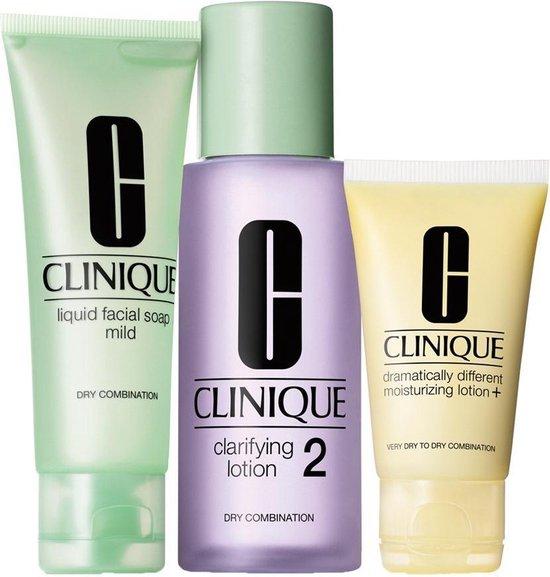 Clinique 3-Step Introduction Kit Huidtype 2 Gecombineerde droge huid - 3 stuks