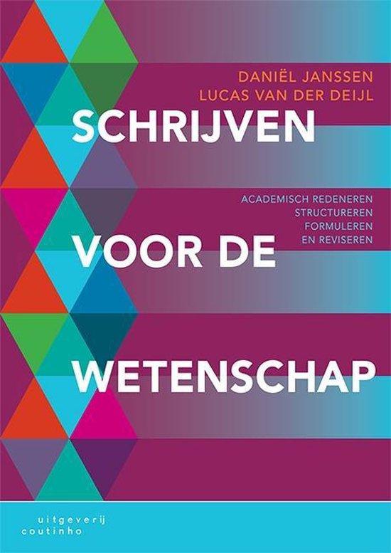 Boek cover Schrijven voor de wetenschap van Daniel Janssen (Paperback)