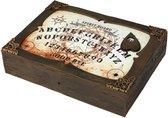 ATOSA - Ouijabord met licht en geluid - Decoratie > Feest spelletjes - Bruin
