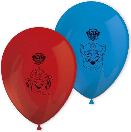 Paw Patrol Ballonnen 28cm 8st
