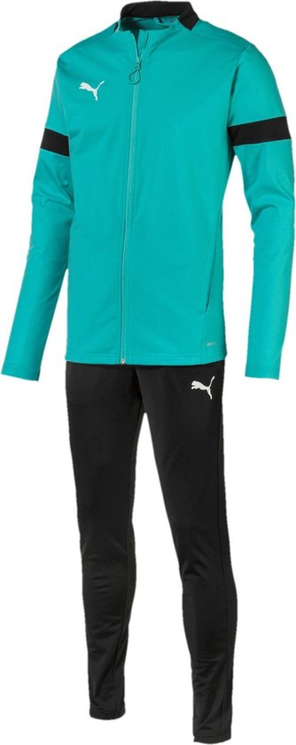 bol.com | Puma Trainingspak - Maat XL - Mannen - aquablauw/zwart