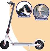 Bol.com-Elektrische Step - E-Scooter - Electrische Step - Voor Volwassenen en Kinderen - Opvouwbaar - 30KM/H - 35KM Bereik - Massieve Banden - 33KM Bereik - Wit-aanbieding