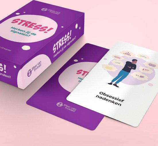 Afbeelding van het spel Stress! Herken jij de signalen? Coachkaarten