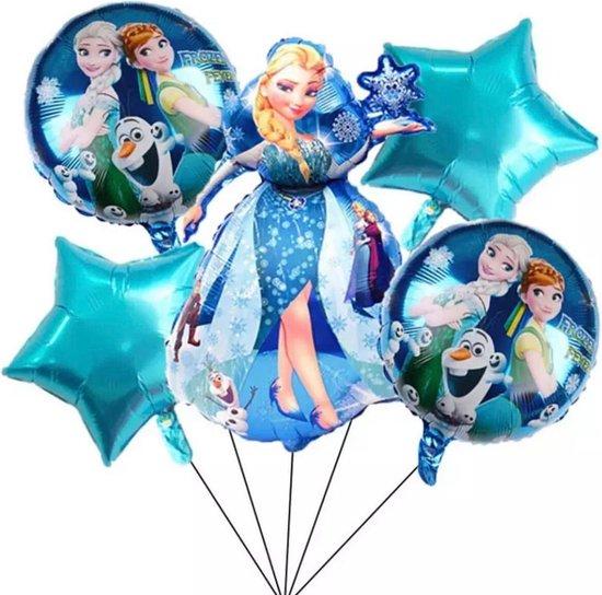 Frozen Ballon - Disney - Ballonnen Verjaardag - Helium Ballonnen - Folieballon - Disney Princess