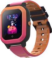 BRUVZ KB2000 – Smartwatch Kinderen – GPS Horloge Kind – GPS Tracker Kind – Kinderhorloge – Smartwatch Kids – HD Videobellen – 4G Netwerk – Inclusief Simkaart & Screenprotector – Roze