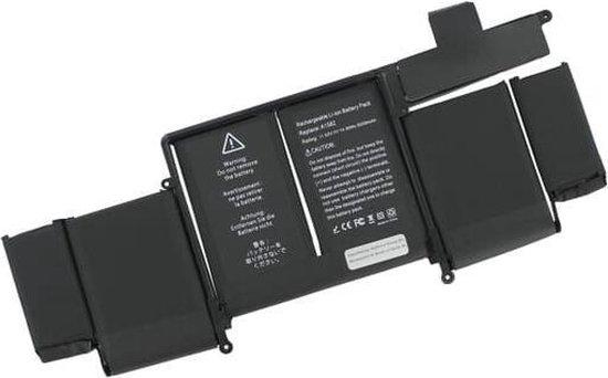 Yanec Laptop Accu 6500 mAh voor MacBook Pro Retina 13 Inch A1502 (Early 2015)