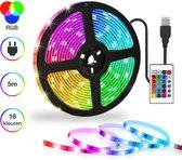 LED Strip 5 meter - Light strip - Lights - Strips - Met afstandsbediening - RGB