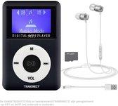 TRANSNECT MP3 - met TF-kaart  - met Magnetische Oordorpjes met Low Bas - USB 2.0 - 1,8 inch LCD-sche