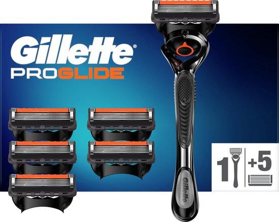 Gillette ProGlide Scheersysteem Mannen + 5 Navulmesjes