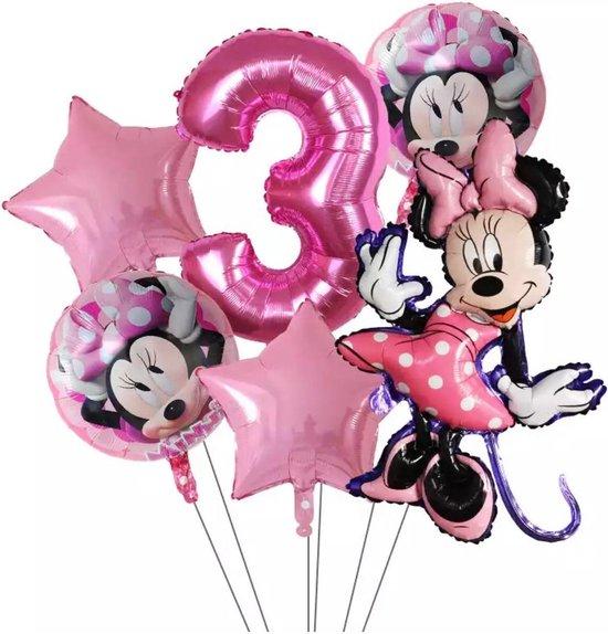 Disney  Minnie Mouse Party Ballonnen 32Inch Nummer 3