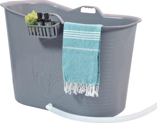 Zitbad Voor Volwassenen - Bath Bucket - Grijs - 200L